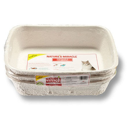 Nature's Miracle - Disposable Cat Litter Box - Various Sizes