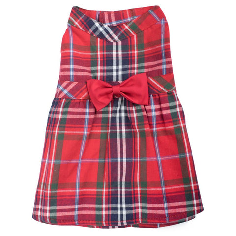 The Worthy Dog - Red Plaid Dress