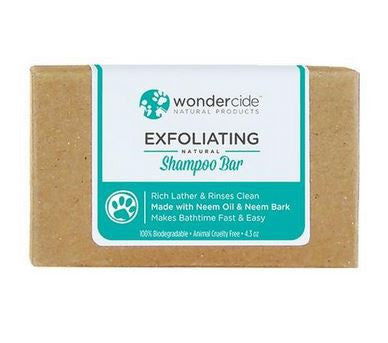 Wondercide - Exfoliating Natural Shampoo Bar