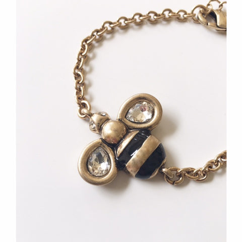 **Jeweled Bee Bracelet
