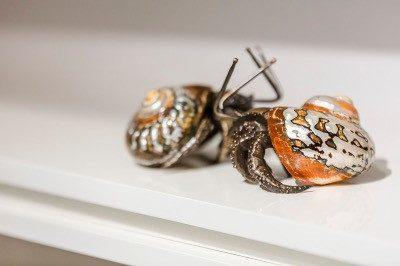 Object - Metal Cast Hermit Crab