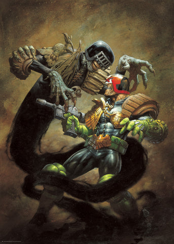 Judge Death and Judge Dredd