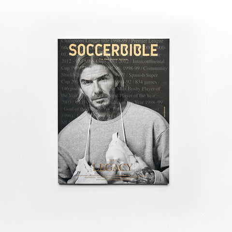 SoccerBible Magazine Issue 10 - David Beckham