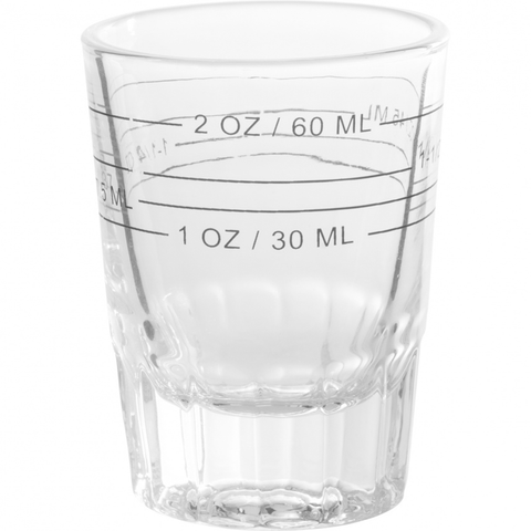 TRUDEAU 2-OUNCE MEASURING SHOT GLASS