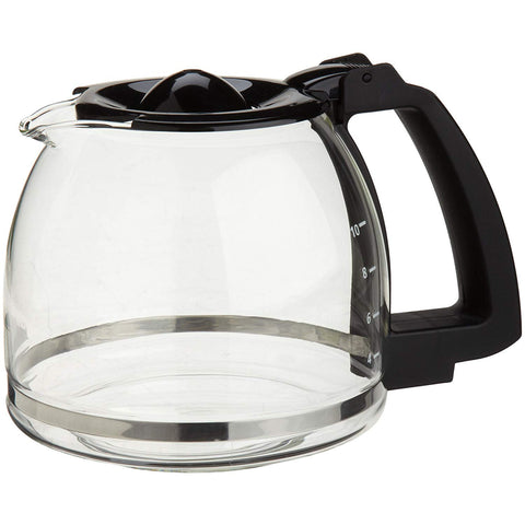 Capresso 10-Cup Glass Carafe with Lid for CoffeeTeam GS Coffee Maker
