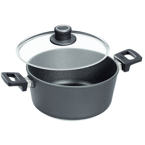 Woll Nowo Titanium Saucepan with Detachable Handle and Lid, 4-3/4-Quart