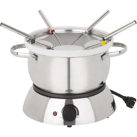 TRUDEAU ALTO 11-PIECE  3-IN-1 ELECTRIC FONDUE SET