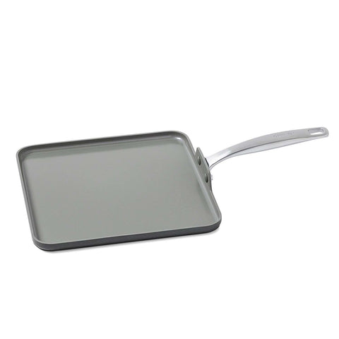 GREEN PAN CHATMAN CERAMIC 11'' NON-STICK SQUARE GRIDDLE