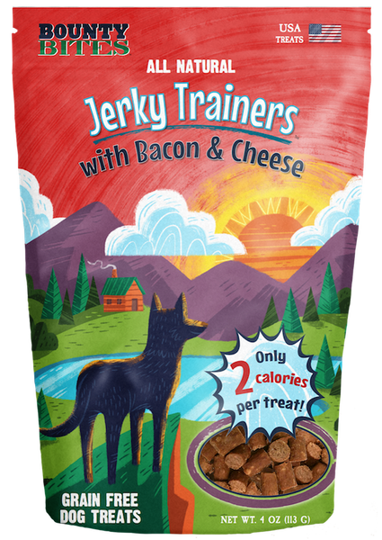 Jerky Trainers with Bacon & Cheese - Training Treats by Bounty Bites