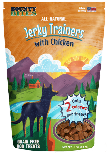 Jerky Trainers with Chicken - Training Treats by Bounty Bites