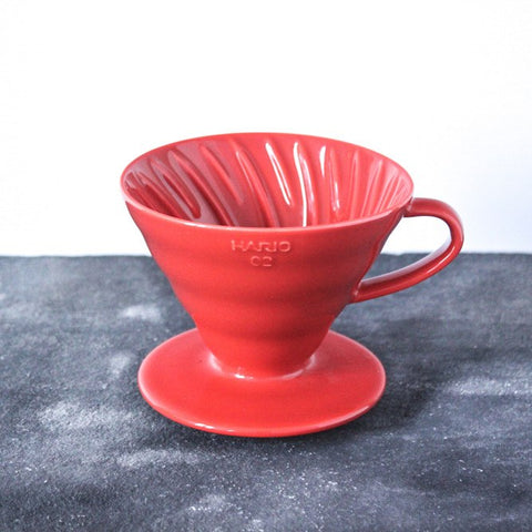 V60 02 RED CERAMIC - Olfactory Coffee Roasters - 1