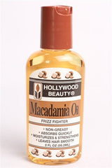 Hollywood Macadamia Oil 2oz.