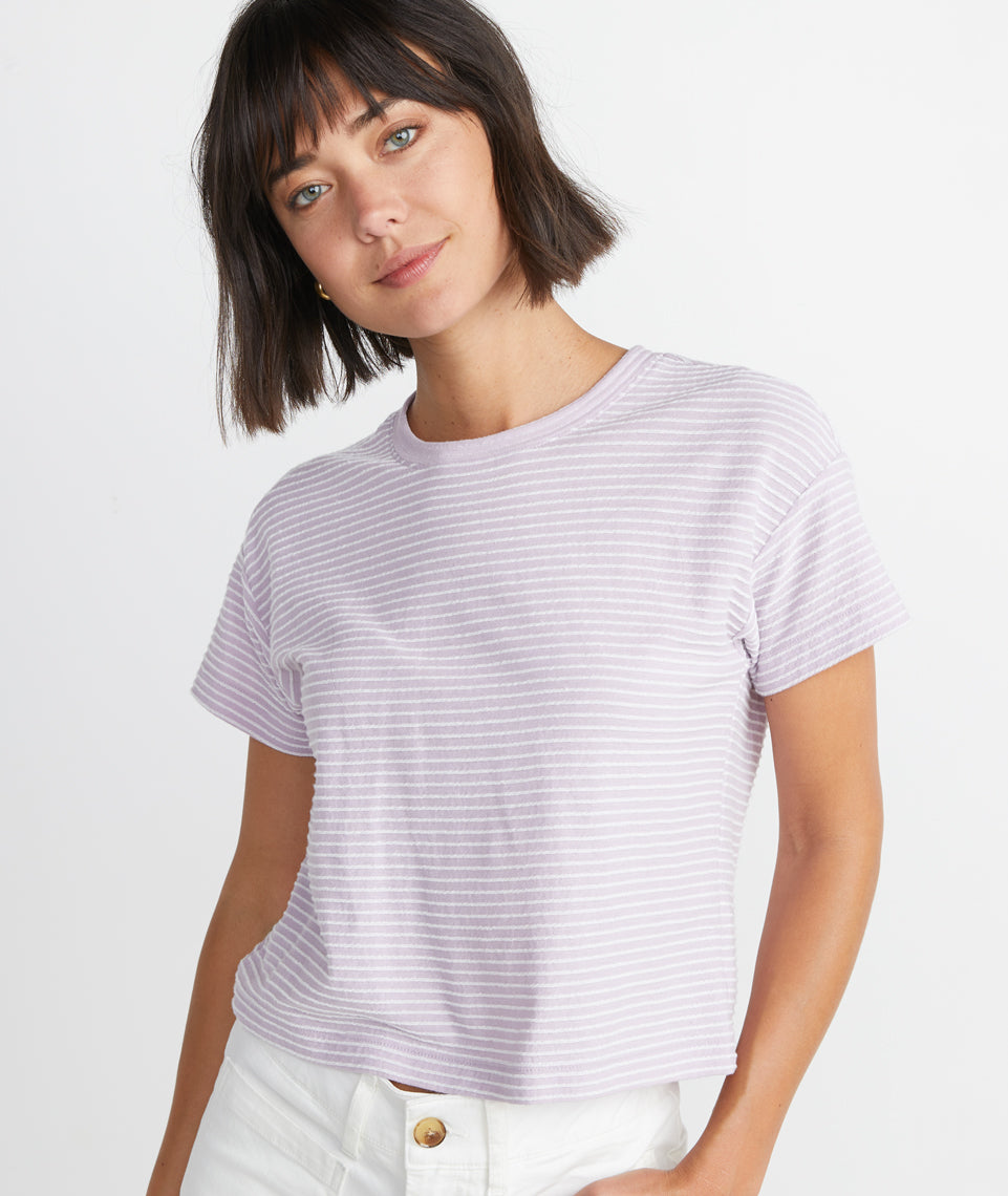 Lydia Tee in Lavender