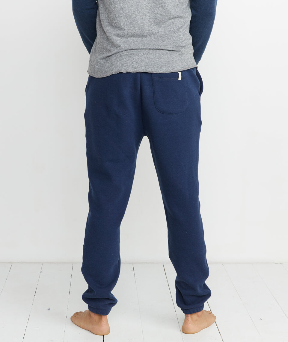 Sherpa Jogger in Navy Heather