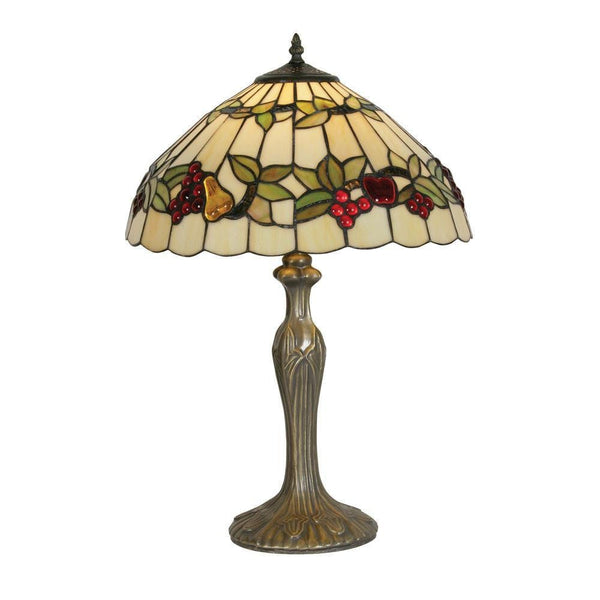 Large Tiffany Lamps - Oaks  Fruit Tiffany Lamp OT 4228/16TL