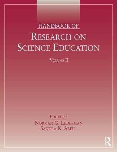 Handbook of Research on Science Education, Volume II *Front Cover dirty*