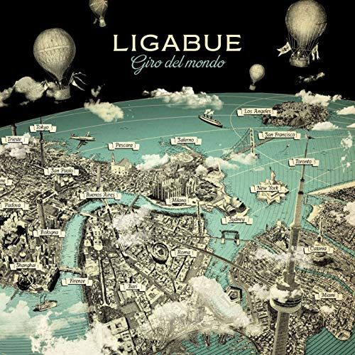 Giro del Mondo by Ligabue (CD)