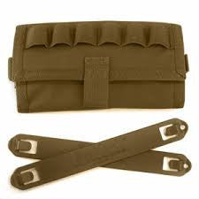 BlackHawk 38CL51CT Tactical Pouch, Shotgun pouch with Speed clips Coyote Tan