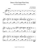 Dance of the Sugar Plum Fairy Level 5 - 1st piano music sheet