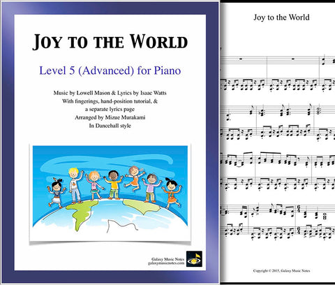Joy to the World Level 5 | Dancehall | - Cover & 1st page