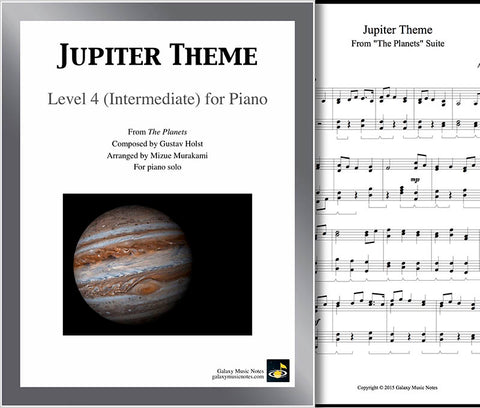 Jupiter Theme Level 4 - Cover sheet & 1st page