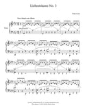 Liebestraum No. 3: Level 6 piano sheet music - page 1