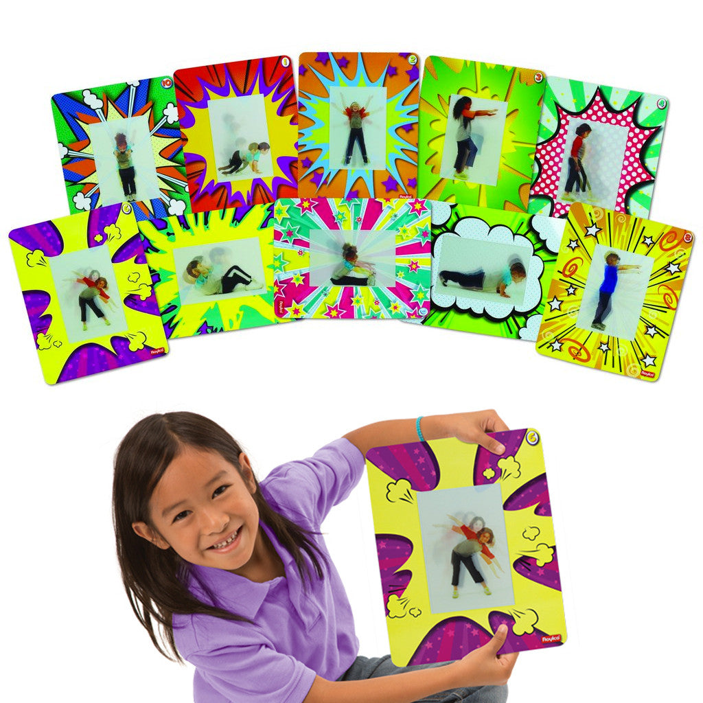 Activity Cards - Action Exercise Set