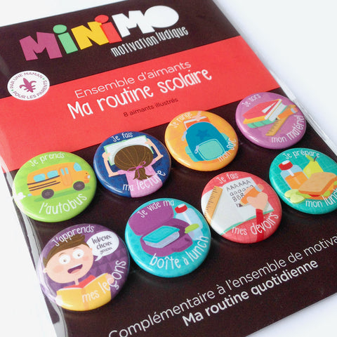 Minimo My School Day Routine