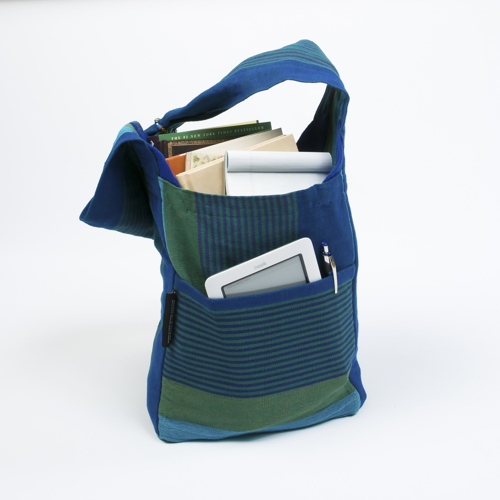 The Versatile Shoulder Bag - Great for carrying books! (sample fabric shown in medium size)