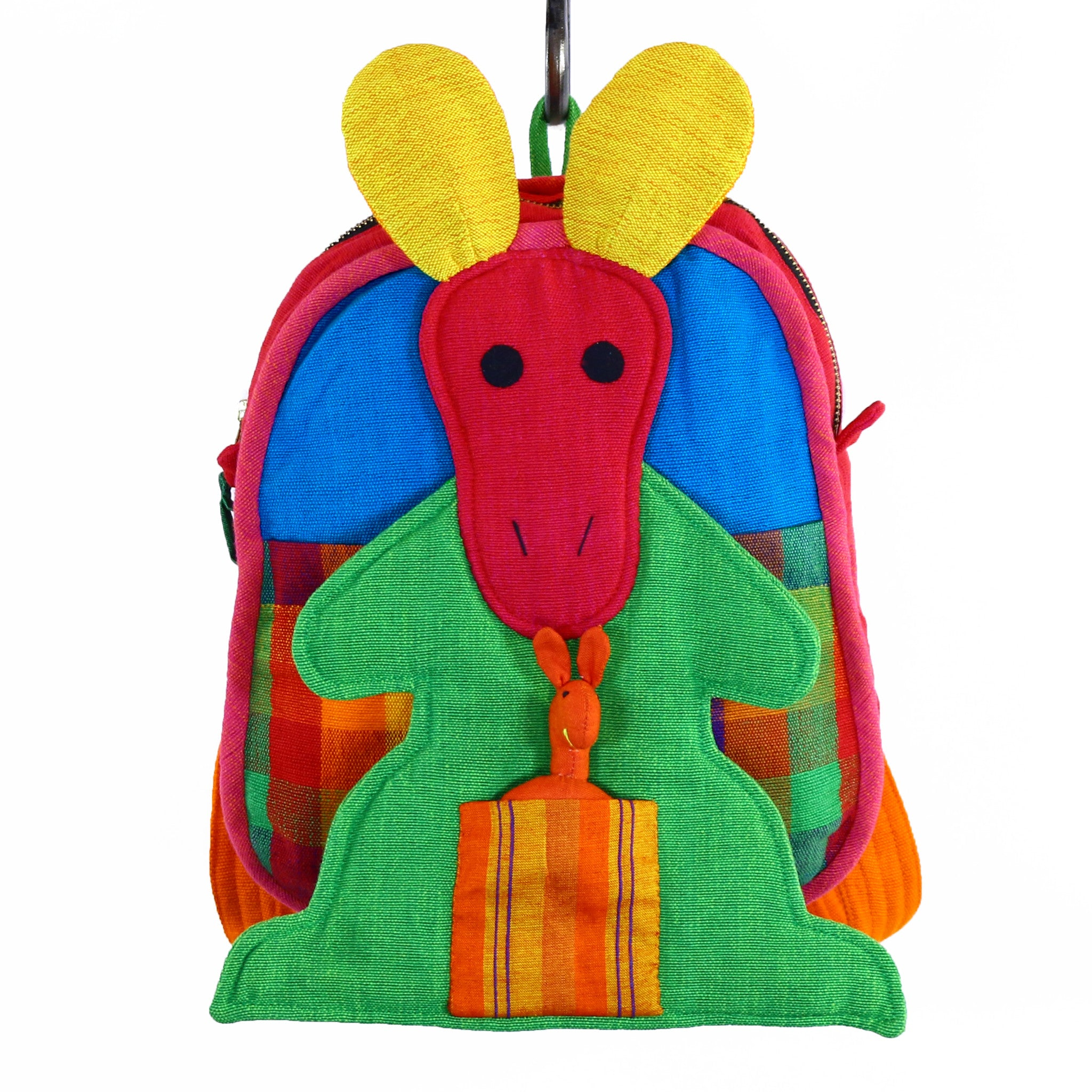 Kangaroo Backpack – Carousel fabric