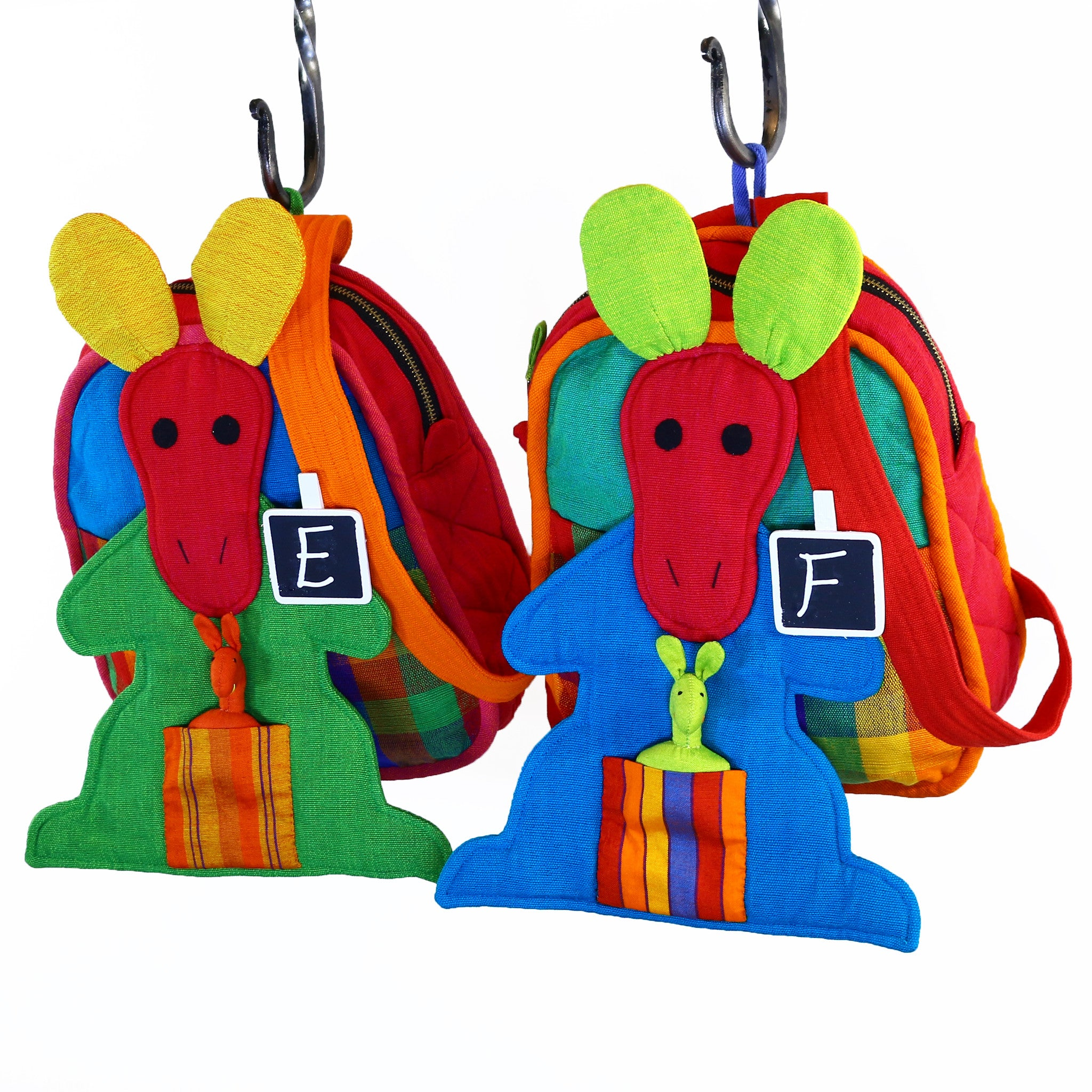 Kangaroo Backpack – Carousel fabric patterns