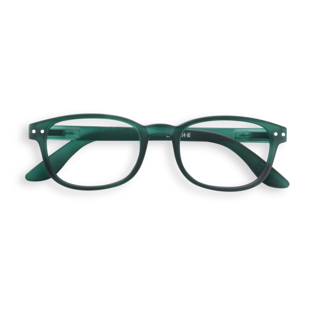 Reading Glasses - B - Green Crystal