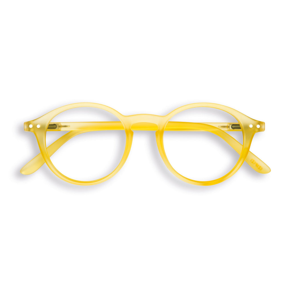 Screen Glasses - D - Yellow Chrome