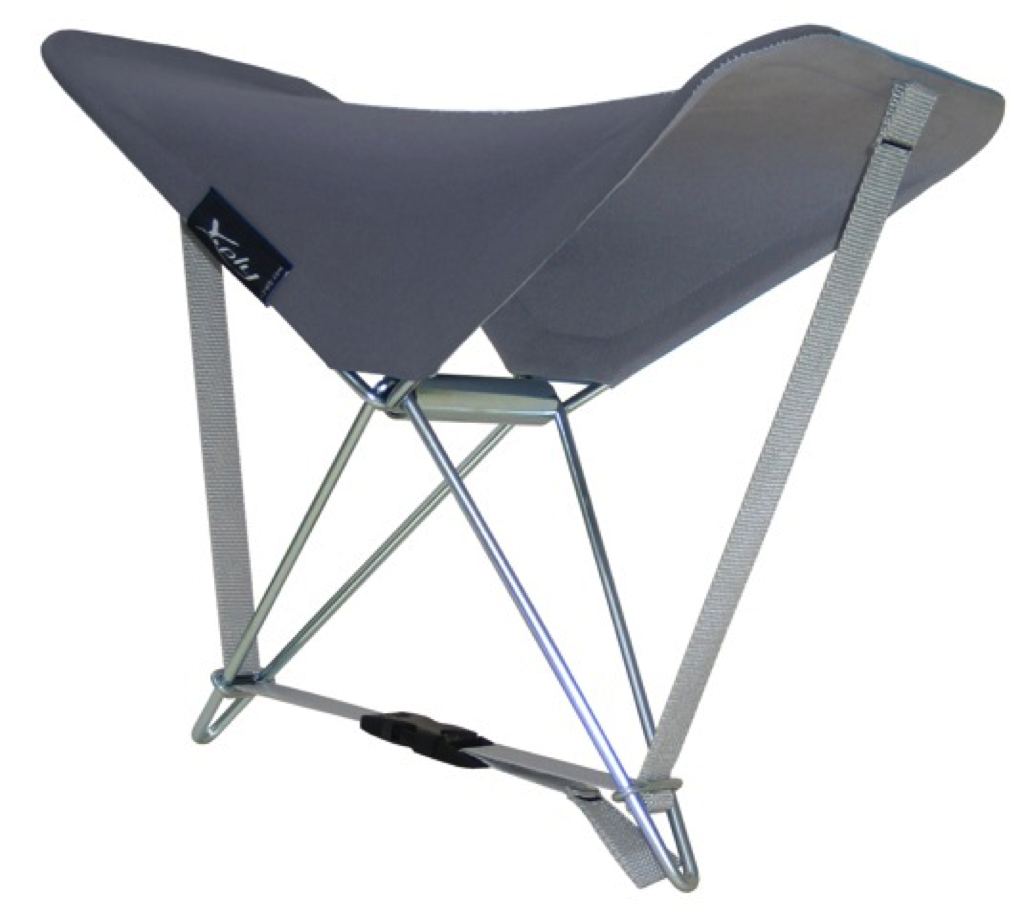 Fritsch-Durisotti Back & Head Rest - Grey