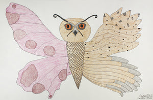 Butterfly-owl by Ooloosie Saila