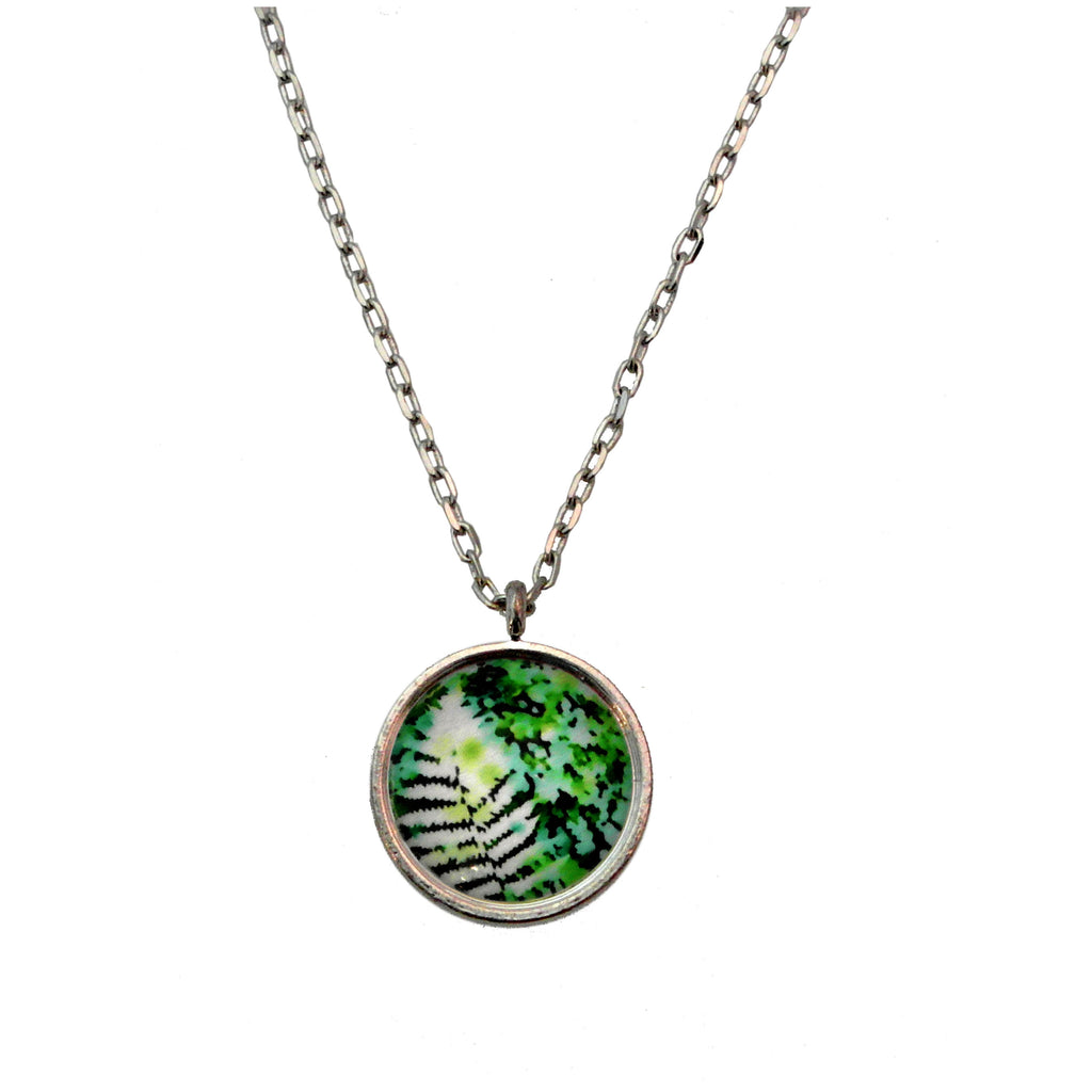 All the Greenery Fern Necklace