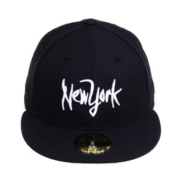 Exclusive 59Fifty New York Scrub Hat - Navy, White