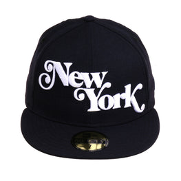 Exclusive 59Fifty New York Fancy Hat - Navy, White