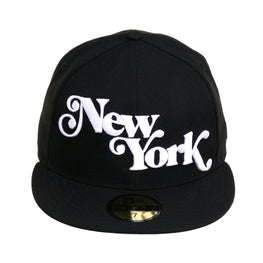 Exclusive 59Fifty New York Fancy Hat - Black, White