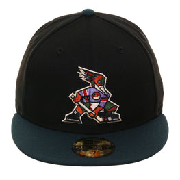 Exclusive 59Fifty Tucson Roadrunners Alternate Hat - 2T Black, Green