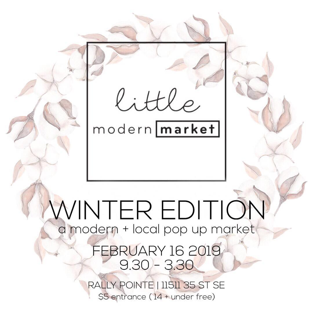 Come Visit Us At Little Modern Market - Feb 16th, 2019