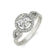 Estelle sterling silver engagement ring