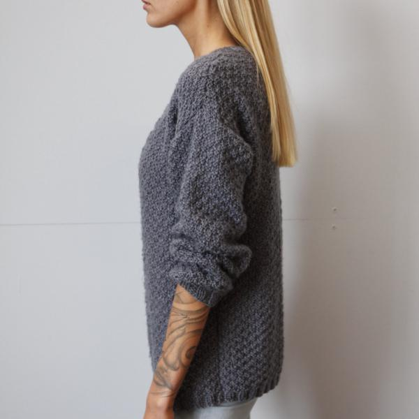 Made to Order knitwear taupe