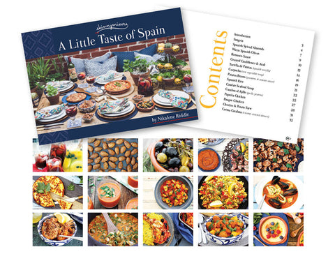 A Little Taste of Spain Cookbook