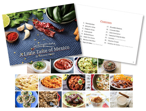 A Little Taste of Mexico Cookbook
