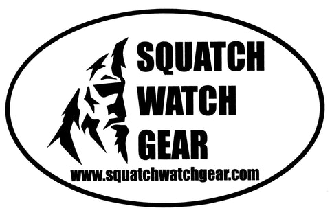 Squatch Watch Gear Sticker