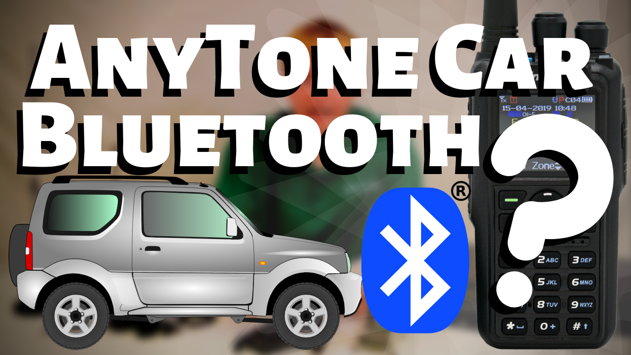 Can the AnyTone 878PLUS Bluetooth Connect to a Car?