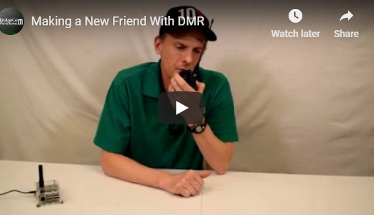 How to Make a New Friends With DMR(DMR Plug and play package live demo)!