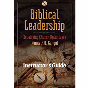Biblical Leadership Instructor's Guide (Download)
