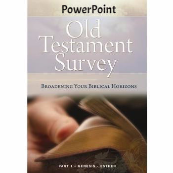 Old Testament Survey Part 1 PowerPoint (Download)